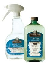 Tub & Tile is incredible. It melted away 4 months of soap scum and hard water stains in our shower. Best part? No hard work required. The scum/stains just literally washed right off. I had a few spots where I had to gently wipe to help it along .. but seriously. I wish I had this product when I cleaned houses for a living!