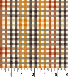 Harvest Prints Fabric-Harvest Plaid Checkers Multi