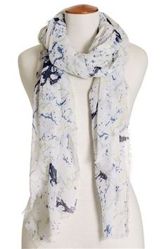 Marble Print Scarf from Next