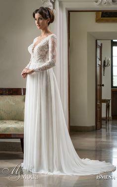 ISMENA - MS Moda - Evita Bridal Gowns, Wedding Dresses, Wedding Blog, Bride, Lace, Inspiration, Fashion, Bride Dresses, Bride Dresses