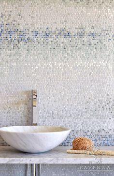 Mosaik-Fliesen im Bad!
