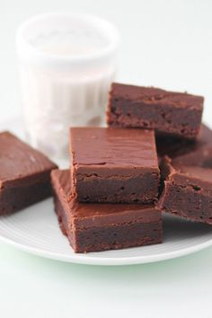 My Favorite Brownies- uses boxed mix, but fancied up