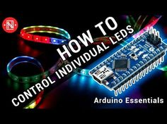 In this first video in the Arduino essentials series, we go through how to program it to control an RGB LED strip that is individually addressable. Esp8266 Arduino, Arduino Led, Arduino Programming, Linux, Led Projects, Arduino Projects, Circuit Projects, Hobby Electronics, Electronics Projects