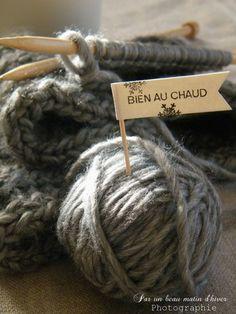 yarn and needles ❦❧