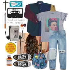 A fashion look from May 2015 featuring Forever 21 jeans and Converse sneakers. Browse and shop related looks.