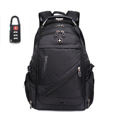 1680D Nylon Waterproof Oxford 17inch Swissgear Backpack Men 15inch Laptop Bag sac a dos Men Backpacks Swiss Travel Backpack Lock #>=#>=#>=#>=#> Click on the pin to check out discount price, color, size, shipping, etc. Save and like it!