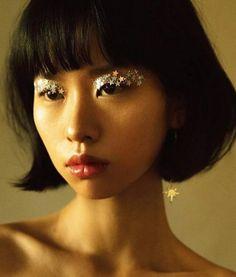 face makeup – Hair and beauty tips, tricks and tutorials Makeup Inspo, Makeup Art, Beauty Makeup, Eye Makeup, Hair Makeup, Hair Beauty, Asian Makeup, Festival Make Up, Glitter Make Up