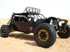 Sand rail also perfect for Big Buggy All Terrain Light Strike Vehicles.