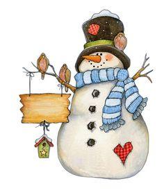 Coleccionando Gifs animados: ♥ Dibujos navideños en color ♥