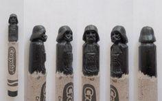 Les sculptures sur crayons de Hoang Tran : StarWars, superhéros, GoT & co