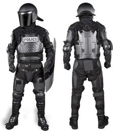 The #FX-1 FlexForce™ Modular Hard Shell Crowd Control System is the ultimate high-threat level riot control, domestic disturbance, and cell extraction suit. The FlexForce™ design provides substantial protection from blunt force trauma without sacrificing the fit or comfort.  The suit is lightweight and ranks highest in