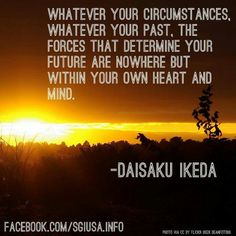 Forces that determine your future...