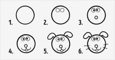 Circles to the rescue: ten simple ways to make drawing with kids fun and easy How To Make Drawing, Drawing For Kids, Drawing S, Art For Kids, Small Drawings, Animal Drawings, Easy Drawings, Colegio Ideas, Gambling Quotes