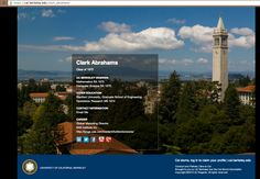 """Clark Abrahams '73 turned on the """"Email Me"""" functionality. He can be emailed without disclosing his email address."""