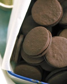 Dark-Chocolate Cookies (Martha Stewart)