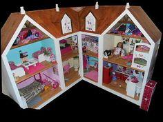 American Girl Custom Built Doll House, 3-14, Female