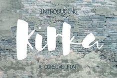 Kirka Font by SophieSaxo on @creativemarket