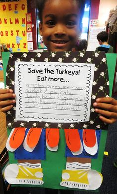 First Grade Wow: 'Twas the Night Before Thanksgiving