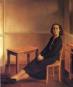 Marie laure de Noailles by Balthus