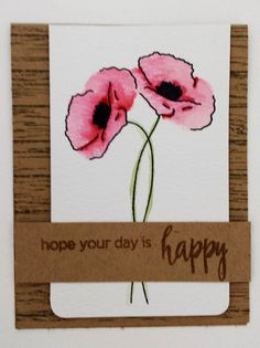 Painted Poppies are such beautiful stamps. I love adding a soft colour to the flowers and leaving the rest of the card clean and simple. To help you understand how to made these cards I made this step by step how to – which I hope will help you. All the supplies I used will be listed at the end, along with some other cards I have made with this stamp set. Click on the photographs to enlarge them.  … Read More
