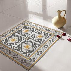 Traditional Tiles - Floor Tiles - Floor Vinyl - Tile Stickers - Tile Decals - bathroom tile decal - kitchen tile decal - 214 by videcor on Etsy
