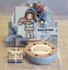 Dena's Stamping Corner: Happy Birthday Friend!