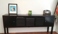 Expedit and Lack Sideboard – Great Dining Room Storage!
