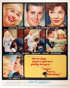 So this film is a remake of the Cary Grant and Irene Dunne screwball comedy,My Favorite Wife.Now you all know how I feel about remakes: But I actually really enjoyed this one. I mean Doris Day? Y…