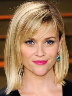 Choppy bangs - Reese Witherspoon