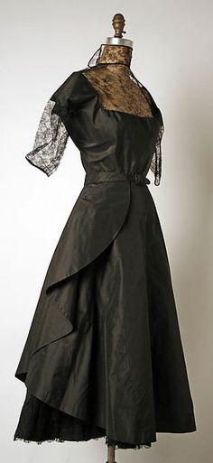 Afternoon dress Designer: Madame Grès (Alix Barton)  Date: ca. 1950