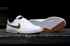 wholesale dealer 96cfc bf58a Nike SB Koston SE White Metallic Gold