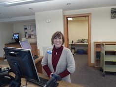 Library Associate Connie Scott.