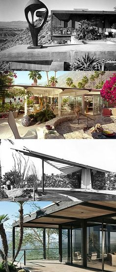Everything You Need to Know About Mid-Century Modern Architecture! Modern Architecture Design, Modern House Design, Vintage Architecture, Mid Century Exterior, Colani, Mid Century House, Mid Century Modern Design, Palm Springs, Design Ideas