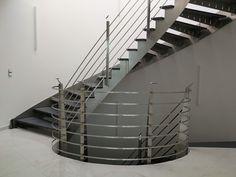 Wenn Mann denkt es geht nicht mehr kommt von der Fa. Pecile eine Stiege her. www.pecile-edelstahl.at Stairs, Home Decor, Stainless Steel, Stairway, Decoration Home, Room Decor, Staircases, Home Interior Design, Ladders