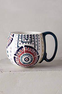 Orchid Pavilion Mug via Anthropologie