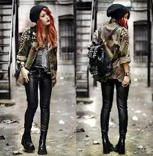 Punk Rock Inspired Style