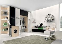 6 Soccer bedrooms theme from Antonio Lanzillo 2 15 Childrens bedroom theme ideas to make children more confident with their ideals