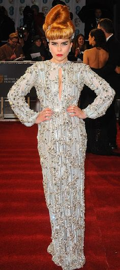 Entertainment news about the biggest TV shows, films and celebrities, updated around the clock. Paloma Faith Hair, Bafta Red Carpet, Boy George, Style Icons, Peplum Dress, Pop, Formal Dresses, Celebrities, Movies