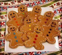 Felt Gingerbread man cookies :: Confessions of a HSer