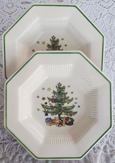 Vintage Set of 5 Nikko Christmastime Dinner Plates Holiday Christmas Dinnerwareu2026 | Love for dishes | Pinterest | Nikko Dinnerware and Dinners  sc 1 st  Pinterest & Vintage Set of 5 Nikko Christmastime Dinner Plates Holiday Christmas ...