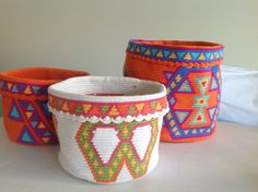 Canastas wayuu
