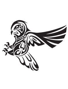 tribal owl tattoo - Google Search