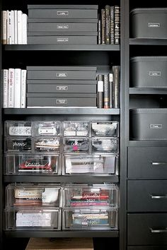 The Home Edit's Top Tips for Organizing Small Spaces Home organization is not what many Small Space Organization, Home Office Organization, Home Office Decor, Home Decor, Organizing Ideas, Office Storage Ideas, Organizing Paperwork, The Home Edit, Love Home