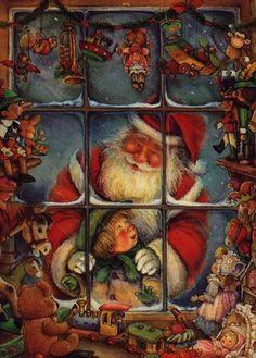 christmasillustr.quenalbertini: Lisi Martin Art | Weihnachten1 - Bildergalerie