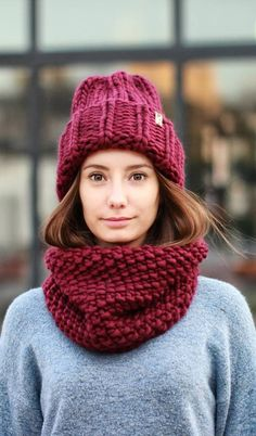 Knitted hat - A Stylish Element Of The Wardrobe İn The Cold Season New 2019 - Page 46 of 50 - apronbasket . Knitting Patterns Free, Free Pattern, Knitted Hats, Crochet Hats, Hats For Women, Beanie, Stylish, Winter, Handmade