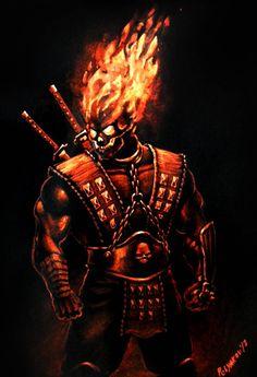 Scorpion by Ario-man on DeviantArt Raiden Mortal Kombat, Scorpion Mortal Kombat, Mortal Kombat Art, Ghost Rider 2, Dragon Ball, Art Psychology, Starship Concept, Combat Gear, Sub Zero