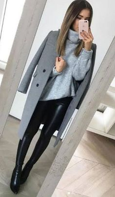 Business Casual Outfits, Casual Winter Outfits, Winter Fashion Outfits, Classy Outfits, Look Fashion, Chic Outfits, Fall Outfits, Autumn Fashion, Teen Outfits