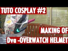 [Tuto Cosplay #2] Hana D.va (Overwatch) Helmet for Ewenae Cosplay - by Azure Cosplay - YouTube