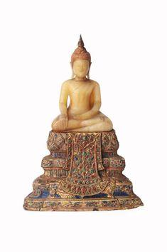 Thai Buddha Statue, Thai House, Thai Art, Buddhist Art, King Queen, Buddhism, Asian, Sculpture, Antiques
