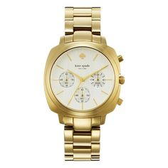 Love this watch.. on my wish list ... kate spade   brooklyn chronograph